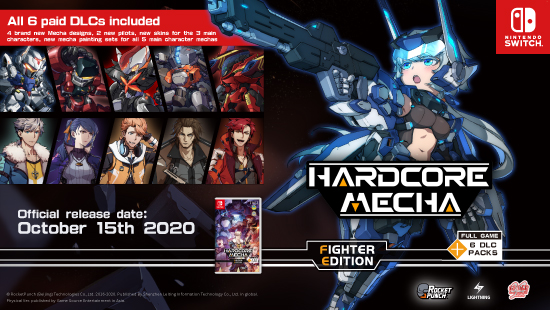 Lightning Games_HARDCORE MECHA Switch Version Pre-order from Today